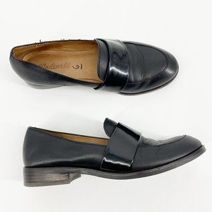 MADEWELL Elin Leather Loafer Black Size 6